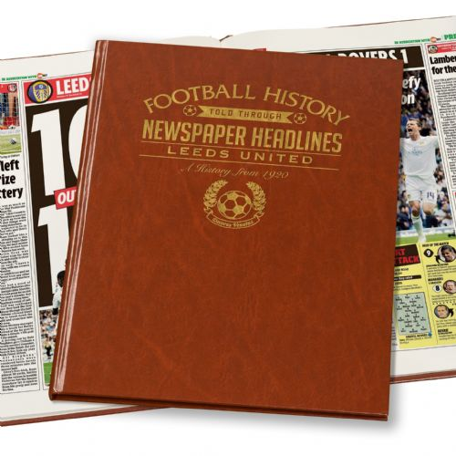 Personalised Leeds United Football Book